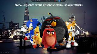 Sonic The Hedgehog and Angry Birds Shorts' Opening Logos, Menus and Intros