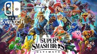 Super Smash Bros  Ultimate  Team Fight Gameplay  - Nintendo Switch