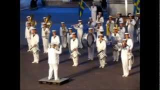 The Royal Swedish Navy Cadet Band at Eksjö International Tattoo Saturday 11th of August 2012