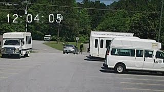 Thief steals parts from non-profit buses