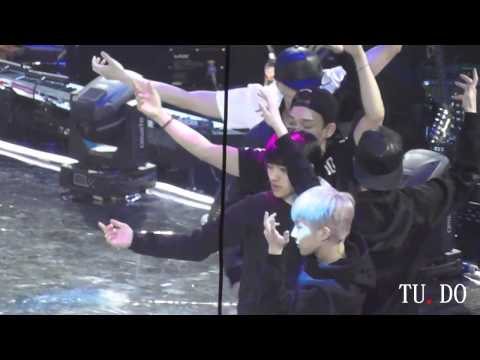 [TU.DO] 140405 EXO rehearsal WOLF (D.O. focus)