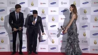 Lee Min Ho - Red Carpet Seoul International Drama Awards 2015