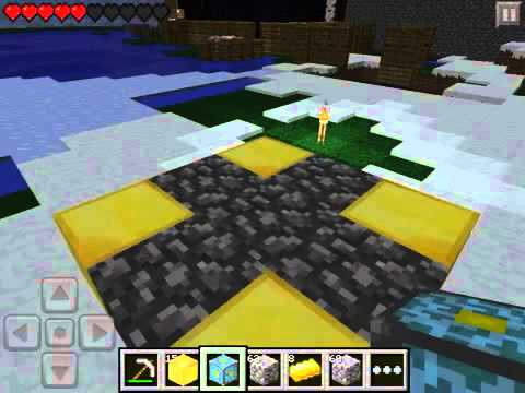 how to make a end portal in minecraft pe survival