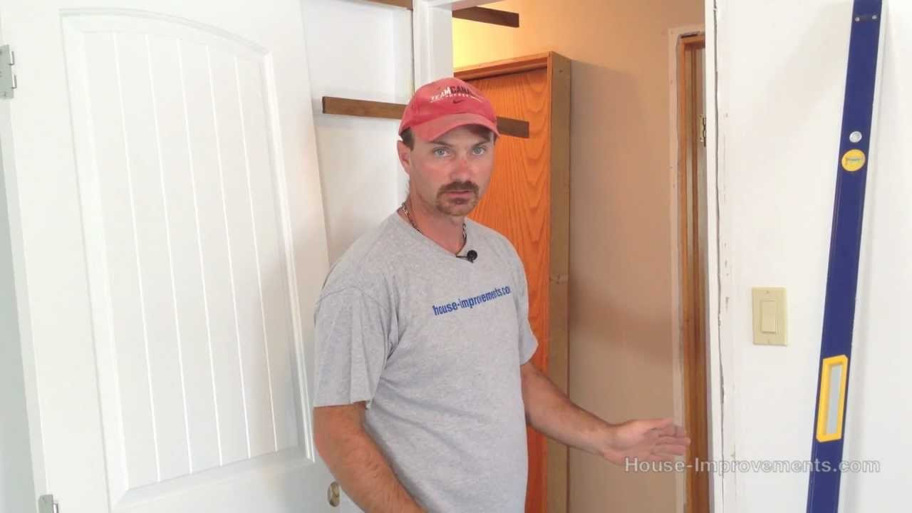 How To Remove Install An Interior Door Youtube