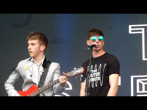 The Strypes get into it live at Electric Picnic 2017