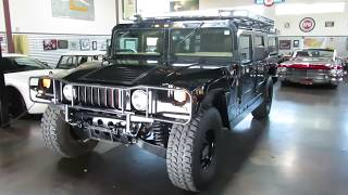 1997 American General Hummer H1 FOR SALE at the Sun Valley Auto Club
