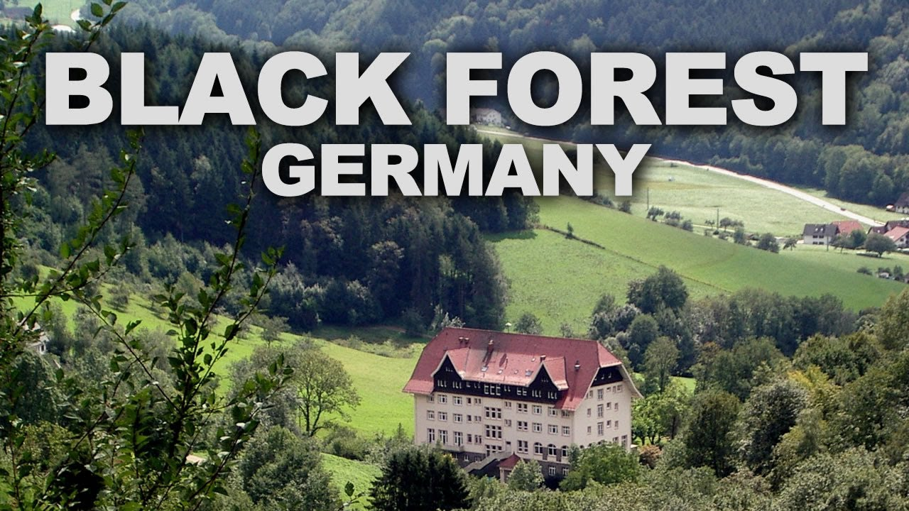 The Black Forest Germany >> Black Forest Schwarzwald In Southwest Germany