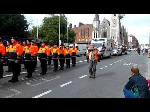 Irish Civil Defence - Emergency Service Parade Dublin