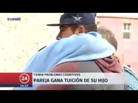 Copiapó  Pareja con discapacidad cognitiva gana tuición de su pequeño hijo   24 Horas T
