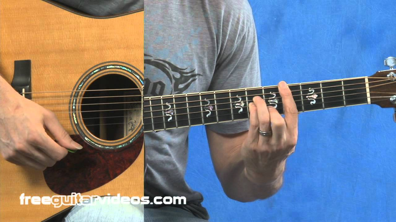Cm Guitar Chord Progression Youtube