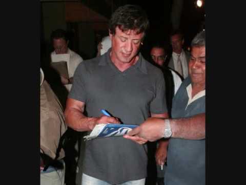 Sylvester Stallone in Beverly Hills ( Rambo Rocky Balboa ) - 060706 - PapaBrazzi Report