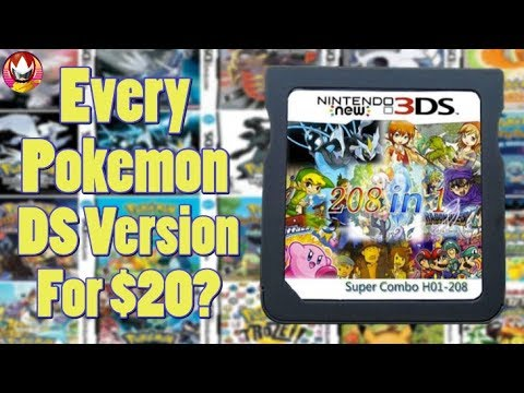 ALL Pokemon DS Games On One Cartridge?