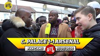 Crystal Palace 1-1 Arsenal | Maitland-Niles Had Zaha In His Pocket!