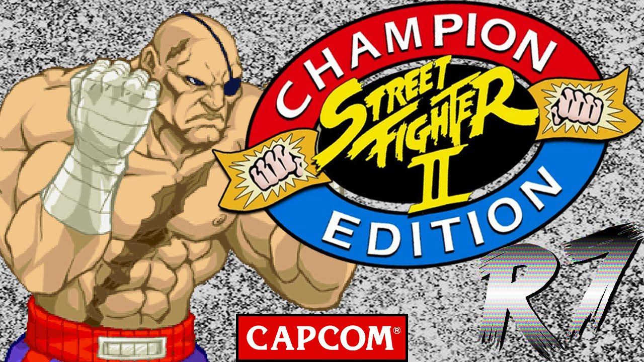 Street Fighter Ii Champion Edition Arcade Longplay Sagat Hd