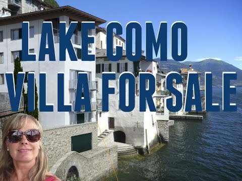 Lake Como Properties: Luxury waterfront villa and other properties for sale on Lake Como .