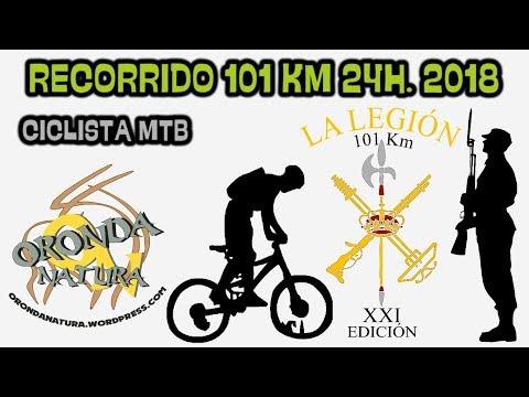 101 Km en 24h. - La Legión - Ciclista MTB 2018 (ORONDANATURA)