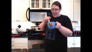 A Geek's Guide To Easy Microwave Cooking:episode 51: Blueberry Cobbler In A Mug