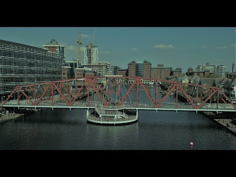 Salford Quays Manchester Drone Footage