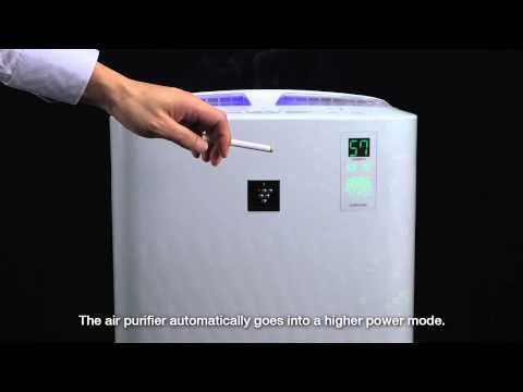 Sensor demo using Sharp Air Purifier