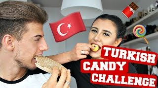 TURKISH CANDY CHALLENGE | Dilara Kaynarca