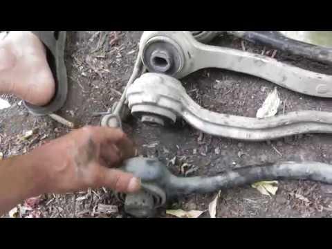 Дополнение Как заменить передние рычаги подвески Мерседеса