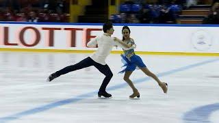 Ритм-танец. Танцы. Baltic Cup. Гран-при по фигурному катанию среди юниоров 2019/20