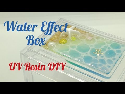 UV Resin DIY Water Effect Box