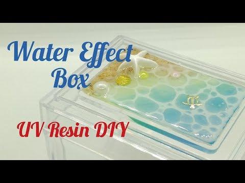 UV Resin DIY Water Effect Box