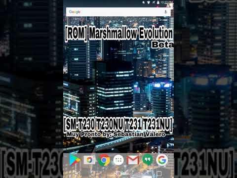 ROM de Android 6 0 1 Para la Samsung Galaxy Tab 4  [SM-T230/T230NU/T231/T231NU] Muy Pronto