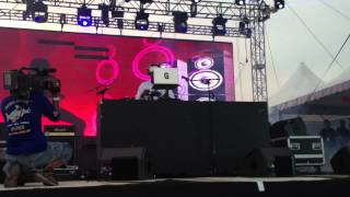 GRAND MASTER FLASH @ Future Music Festival Asia 2012, Malaysia