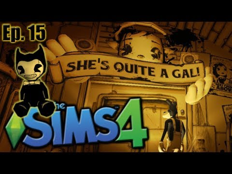 Bendy & Alice Cats?! - The Sims 4: Bendy and the Ink Machine - Ep 15