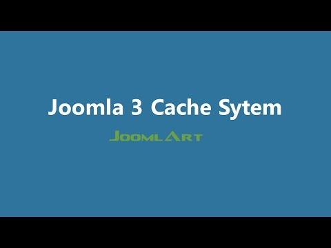 Joomla 3 Video Tutorials - Joomla Cache System