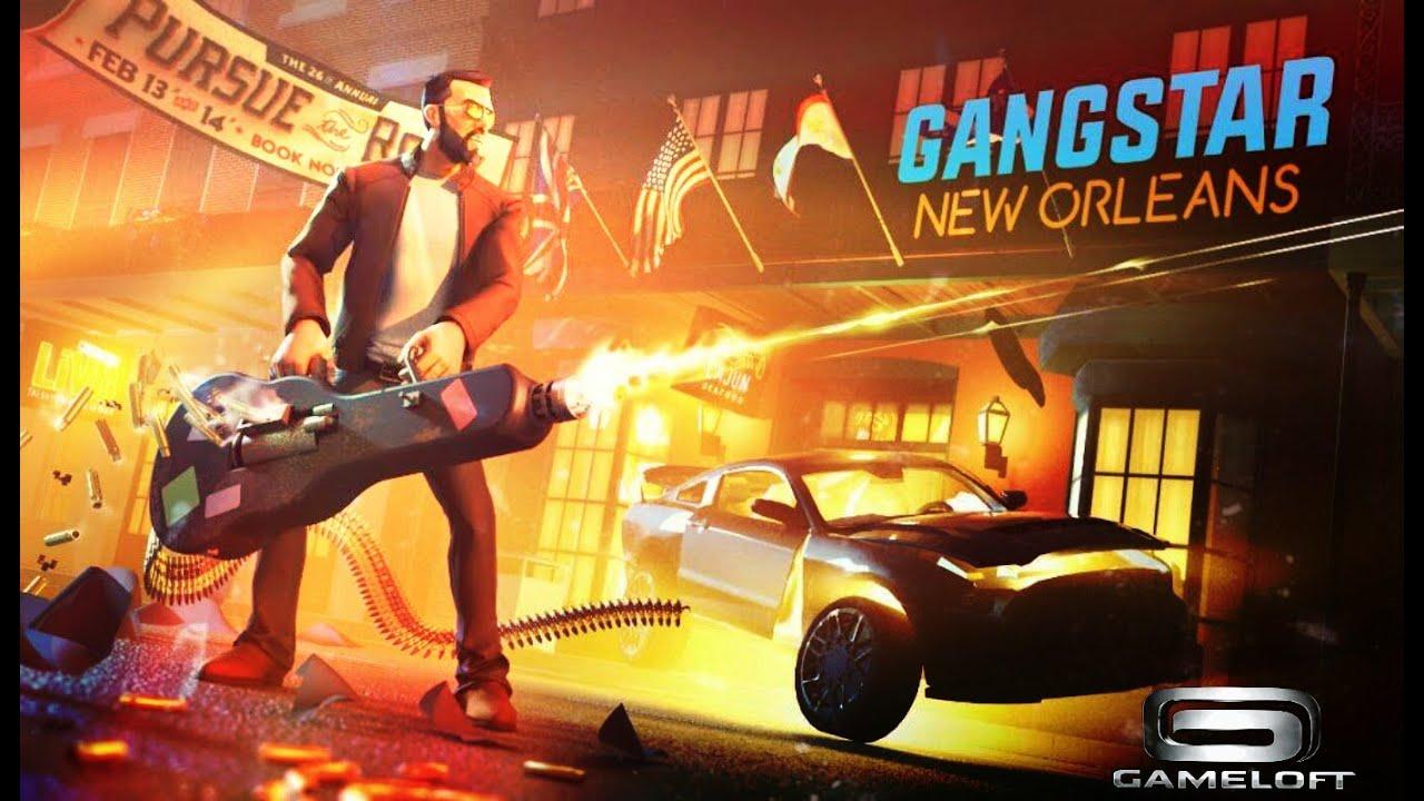 gangstar new orleans gameloft upcoming games youtube. Black Bedroom Furniture Sets. Home Design Ideas