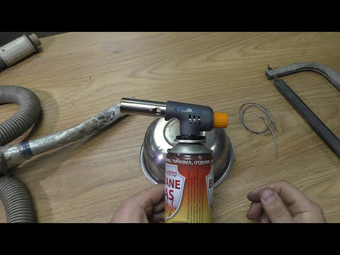 Как запаять алюминиевую трубку в домашних условиях