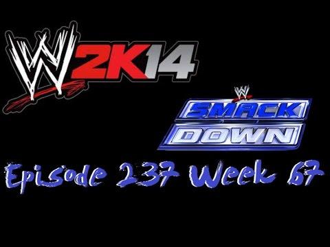 WWE 2K14 Universe Mode (Episode 237-Week 67) Smackdown