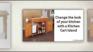 Www.kitchen Cart Islands.com - Sturdy & Efficient Kitchen Cart Islands & More!