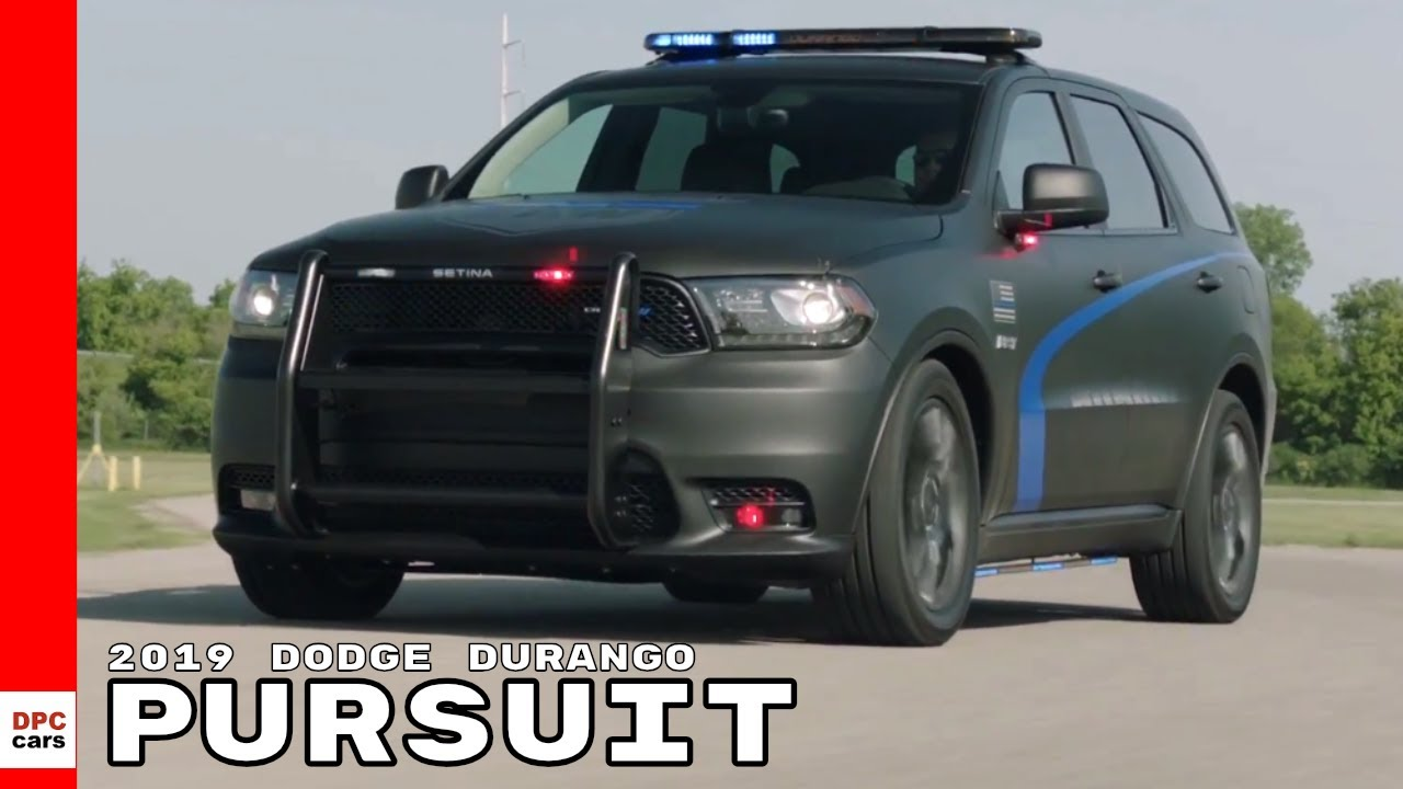 2019 Dodge Durango Pursuit - YouTube