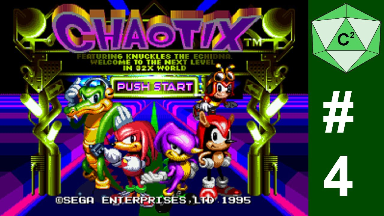 Let's play Knuckles Chaotix - Part 4