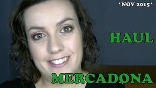 HAUL MERCADONA - Noviembre 2015 -