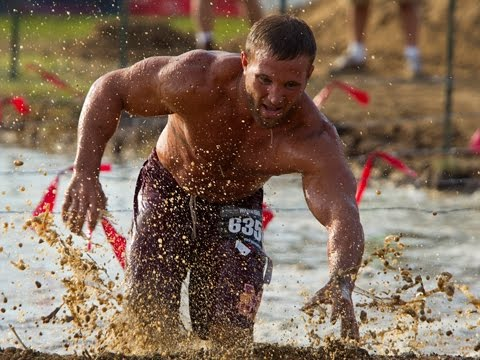 Entire Warrior Dash, Florida 2015 3:15 Wave, GoPro HD
