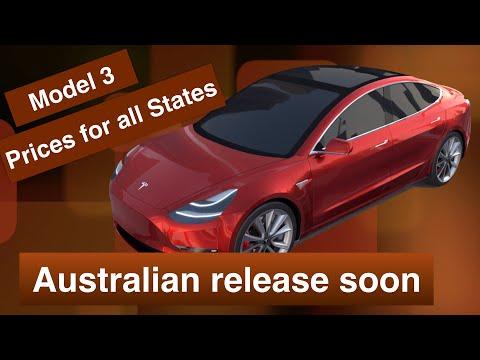 AUSTRALIAN TESLA MODEL 3 PRICE AND FREE ONLINE COST CALCULATOR