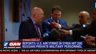 U.S. Air Strike in Syria Hit 200 Russian Private Military Personnel