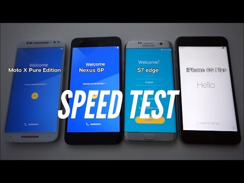 iPhone 6s Plus crushes Galaxy S7 edge in side-by-side speed test