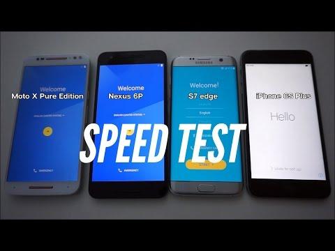 Galaxy S7 perde para iPhone 6s Plus em teste de velocidade