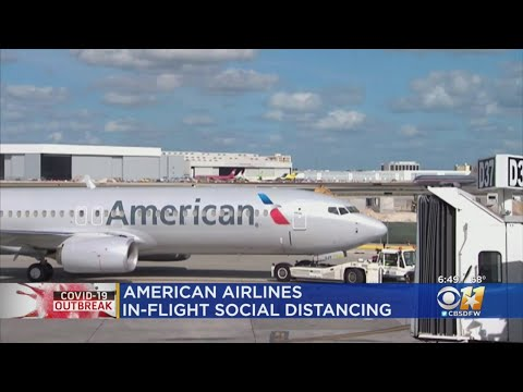 American Airlines Has A New Inflight Social Distancing Plan