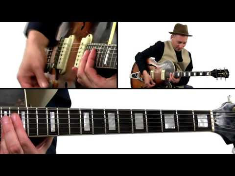 Fast Hillbilly Country Lick - Guitar Lesson - 50 Alternative Roots Licks