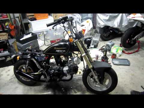 Kawasaki AV50 + KSR178 Engine