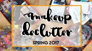 ORGANISATION || Huge Makeup Declutter Spring 2017