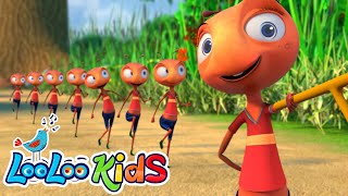 🐜 The Ants Go Marching 🐜 LooLoo Kids Nursery Rhymes for Kids