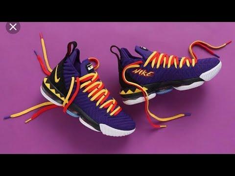 "premium selection 3440b aa620 Nike LeBron 16 ""Martin"" Sneaker Review"